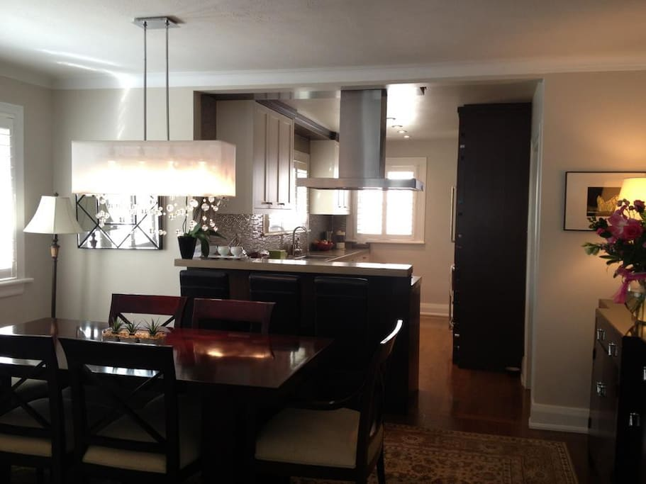 Fabulous Renovated Kitchen ~ You're Welcome to Share.