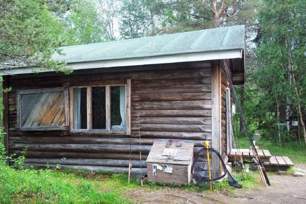 Main cabin has not changed much in half a century.