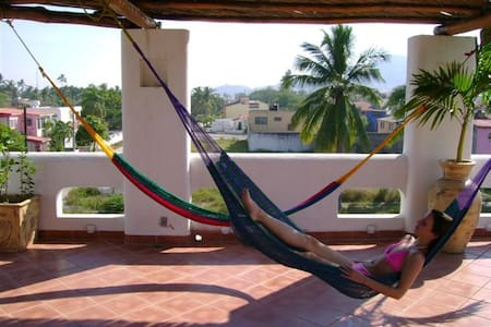 CASA HOLISTICA SOL B&B SPA Room A - Barra de Navidad - Penzion (B&B)