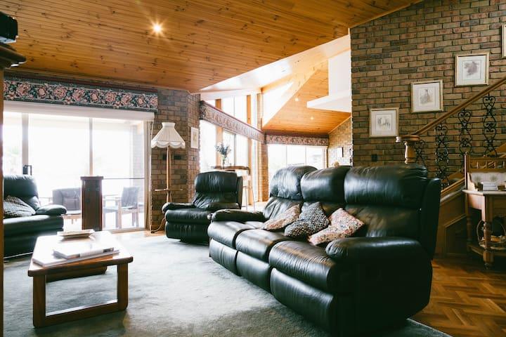 Open living lounge room