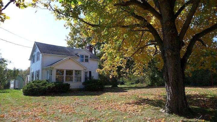 Germantown retreat on 25 acres