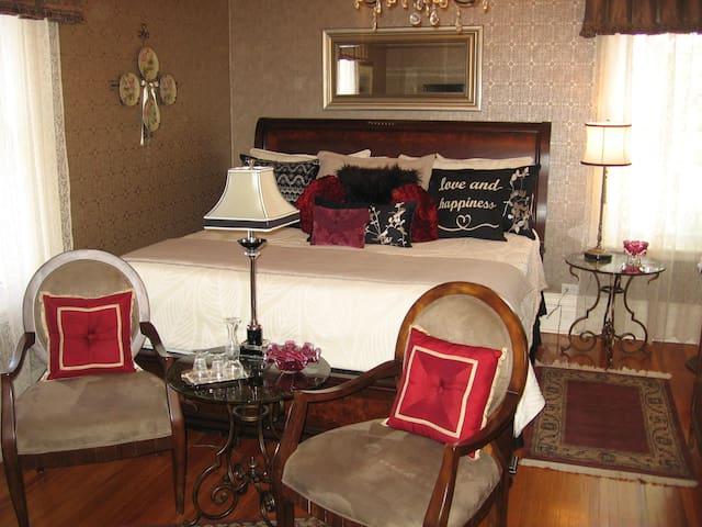 Rose luxury suite room, very quiet - ナイアガラの滝 - B&B/民宿/ペンション