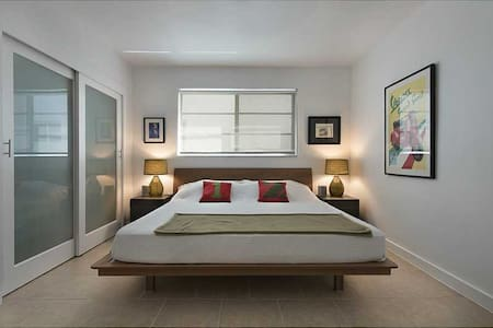 Beautiful Apt+King Bed + 2 bicycles - Miami Beach - Appartement en résidence