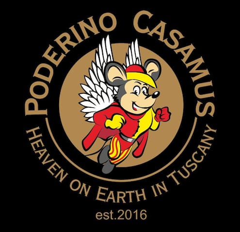 PODERINO CASAMUS, Heaven on Earth in Tuscany - Civitella