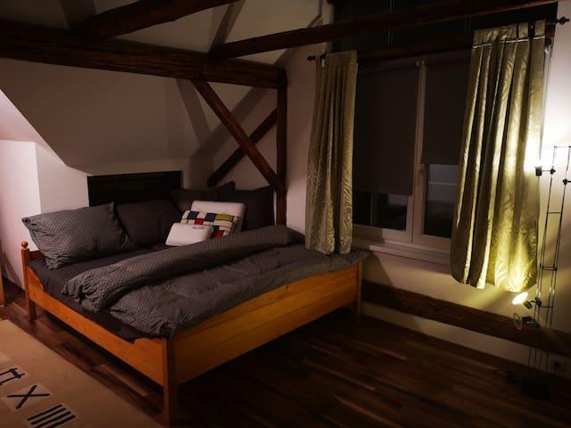 Podkrovní apartmán (Open loft apartment)