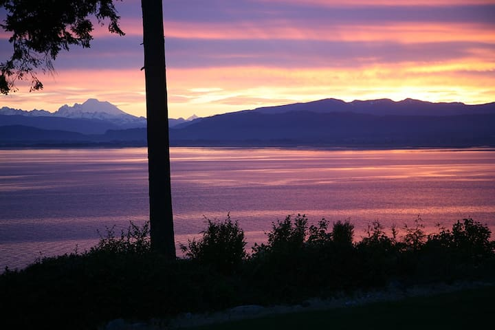 Waterfront Suite on Skagit Bay - Camano Island - Guest suite