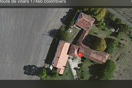 La maison au milieu des champs - Colombiers - House - 0