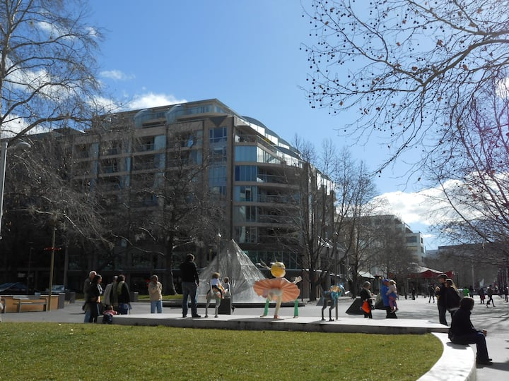 Centre of Canberra CBD