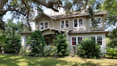 Old farm house, great birding