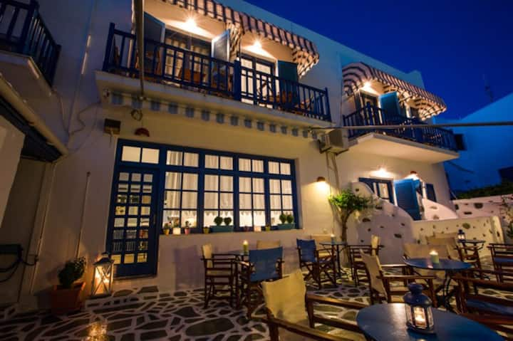 Dilion hotel in Paros twin/double  superior room