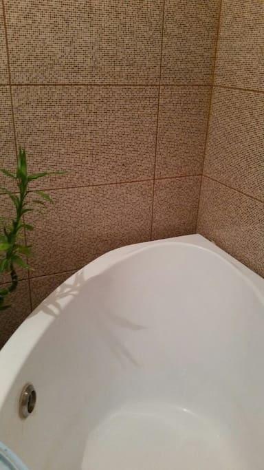 Большая ванна для 2 человек