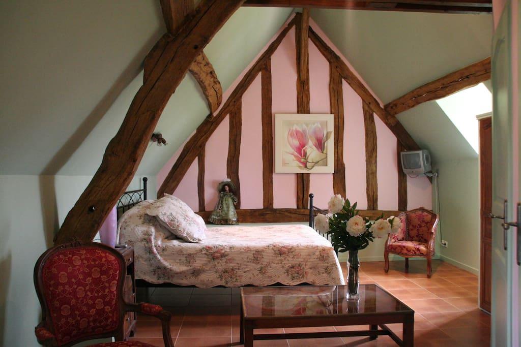 La gentilhommi re de normandie la printani re chambres for Chambre haute france