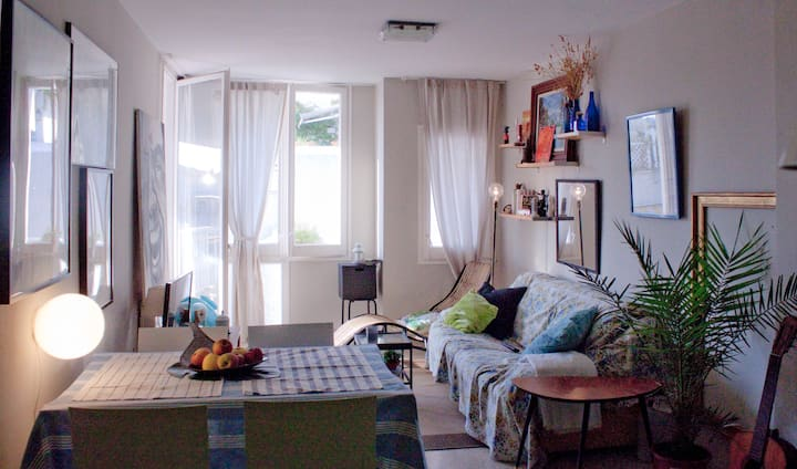 Céntrico y luminoso piso en Sitges