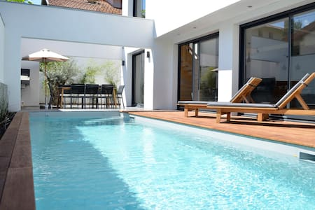 Top 20 des location villa vacances biarritz airbnb for Piscine biarritz