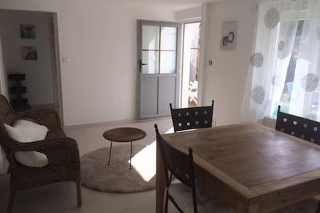 Appartement avec jardin 4 personnes - Longeville-sur-Mer