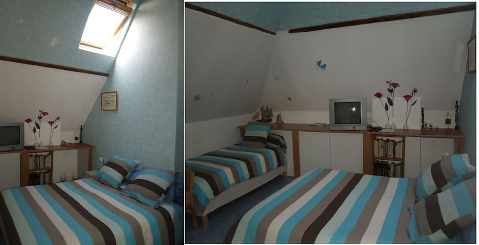 """Chambre """"Amicalement votre"""" 38€ /1p - Arques-la-Bataille - Bed & Breakfast"""