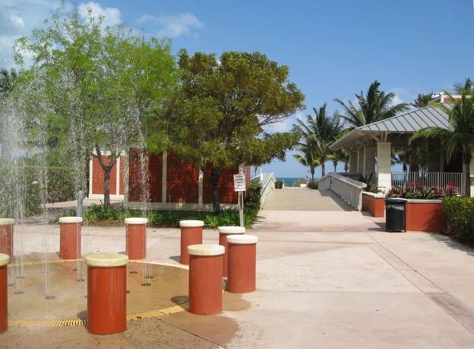 Beach Entrance 24/7