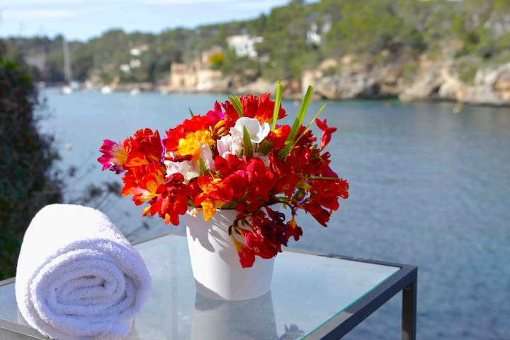 PRIVILEGED PLACE WITH PRIVATE SEA - Cala Figuera - Apartment