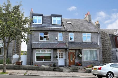 Double room in Granite townhouse - Aberdeen - Bed & Breakfast