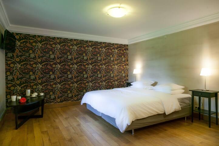 L'orée des fagnes - chambre Automne - Jalhay - Bed & Breakfast