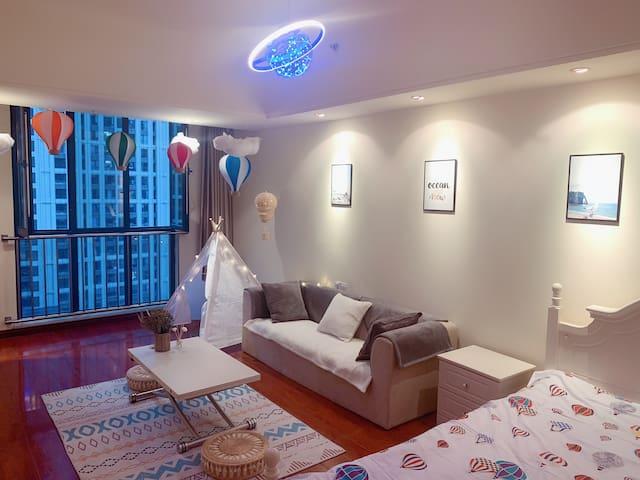 浪漫土耳其 异域风情 热气球超温馨 200寸超大观影体验