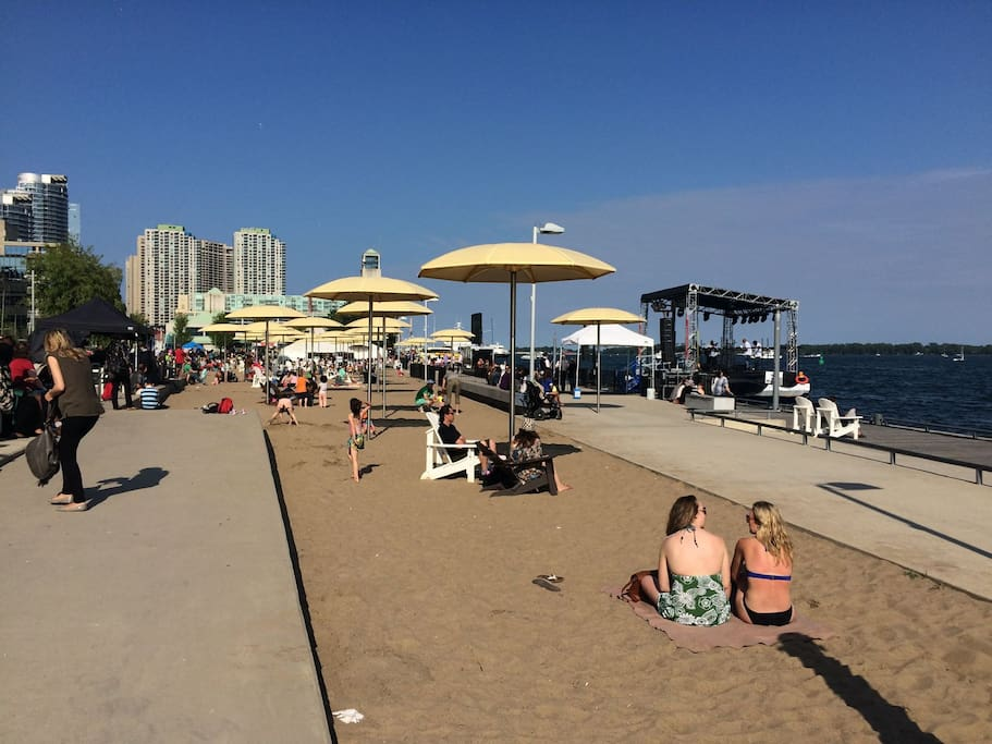 Beach on the Harbourfront