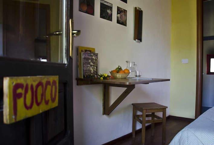 Casa Fuoco - CEA Serra Guarneri - Cefalù - Bed & Breakfast