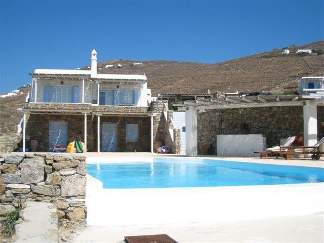 Villa 120m from Lia beach, Mykonos - Áno Merá - Ev