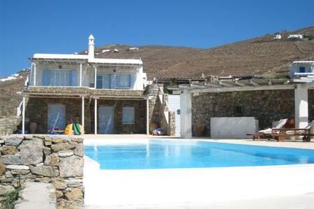 Villa 120m from Lia beach, Mykonos - Áno Merá