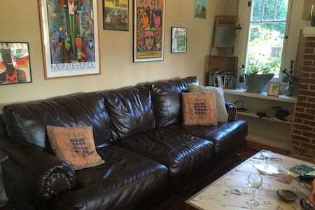 eclectic, cozy, fun - House