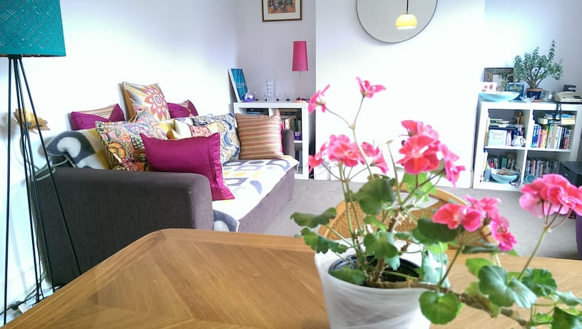 Double room in colourful flat - Londyn - Apartament