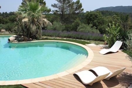 Mas provençal avec piscine chauffée - Bras