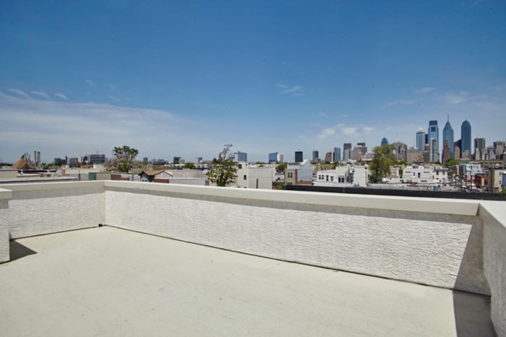 One of the best rooftop views in the city!