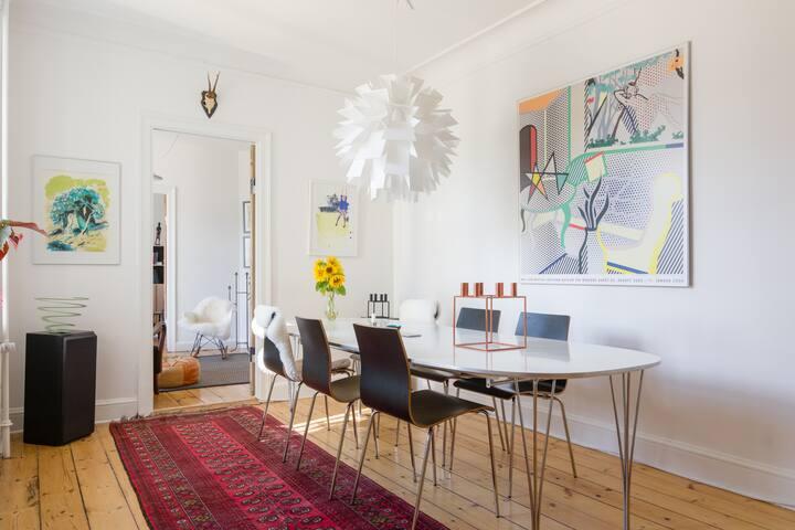 Nice and roomy apartment - Kopenhagen - Appartement