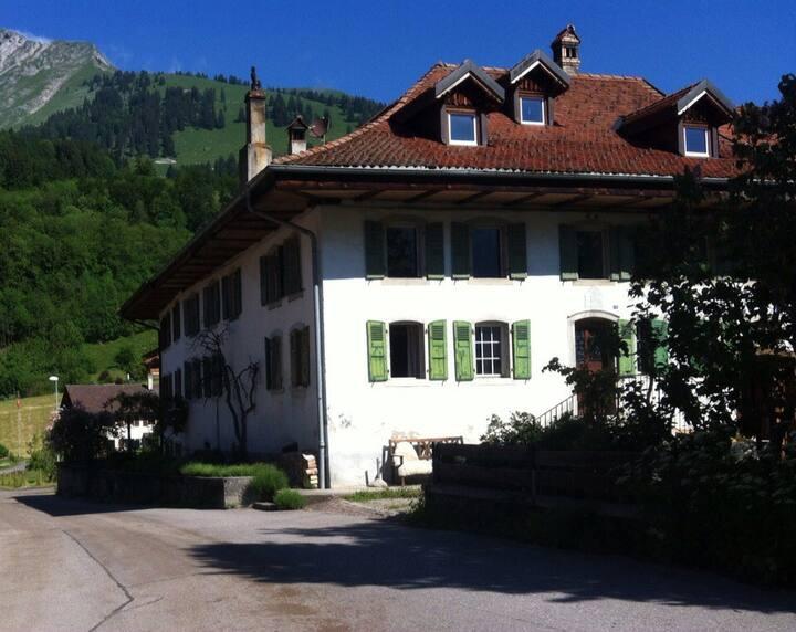 Appartement de charme à la montagne