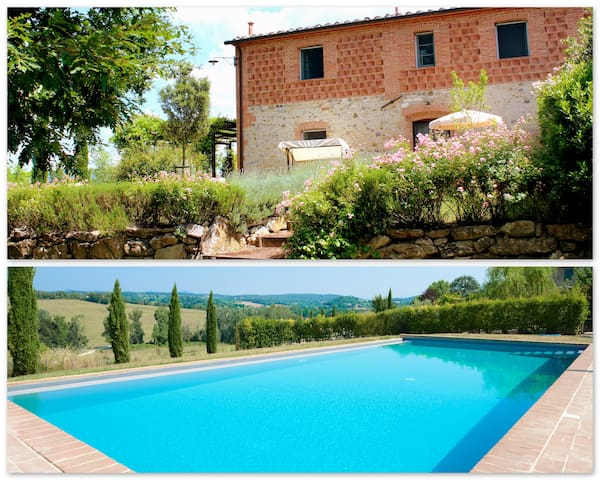 Charming cottage in Tuscany  - Asciano