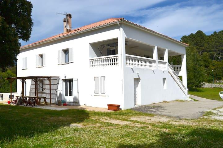 maison blanche - Zonza - Hus