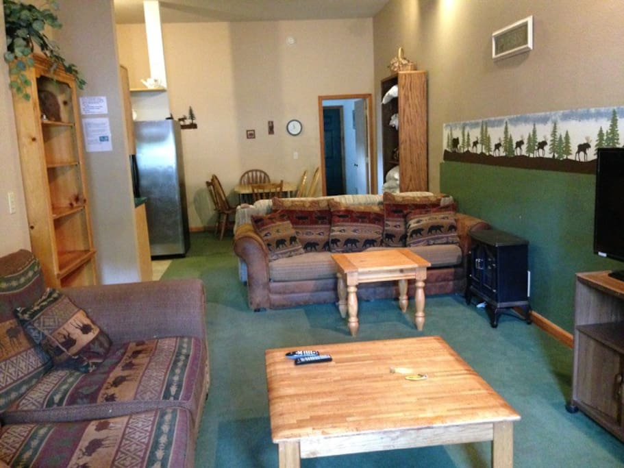 Fox suite at columbine cabins flats for rent in grand for Grand lake colorado cabin rentals