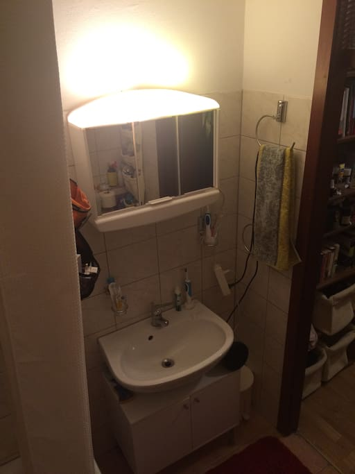 A cosy bathroom