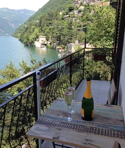 Casa Alicia - wonderful lake view - Nesso - Apartamento