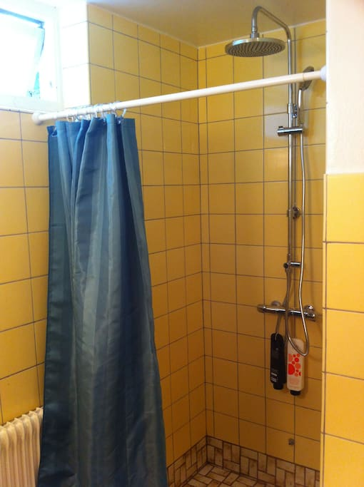 The shower to room nr 3+4