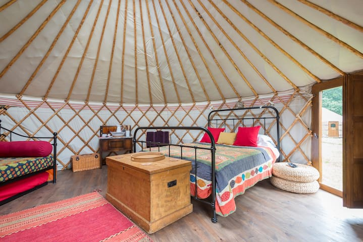 Glamp or Camp at 'Swallowtails' - Holt - Yurt
