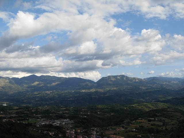 casetta nel Parco Nazionale Pollino