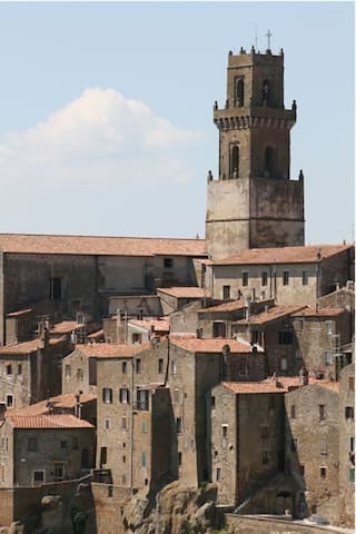 Historical centre of Pitigliano  - Pitigliano - Byt