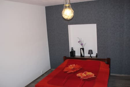Spacious private rooms near airport - Buštěhrad - Hus