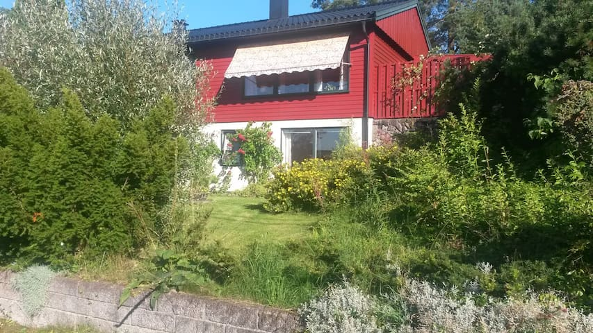 Stay on a 30 m2 Bedsit appartment. - Oppegard - Pis