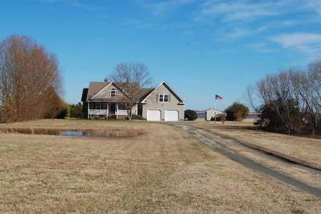 Waterfront Retreat S. of Va. Beach - Knotts Island