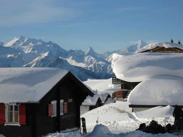 Matterhornblick - 2220 m hoch - Fiesch - Chalet