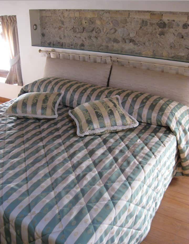 Chic room by the river Piave