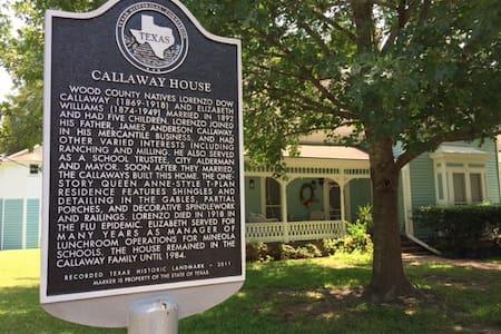 The Callaway House circa 1892 - Mineola